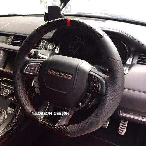 Range Rover Evoque Steering Wheel Robson Design Carbon Fiber Car Accessories Interior