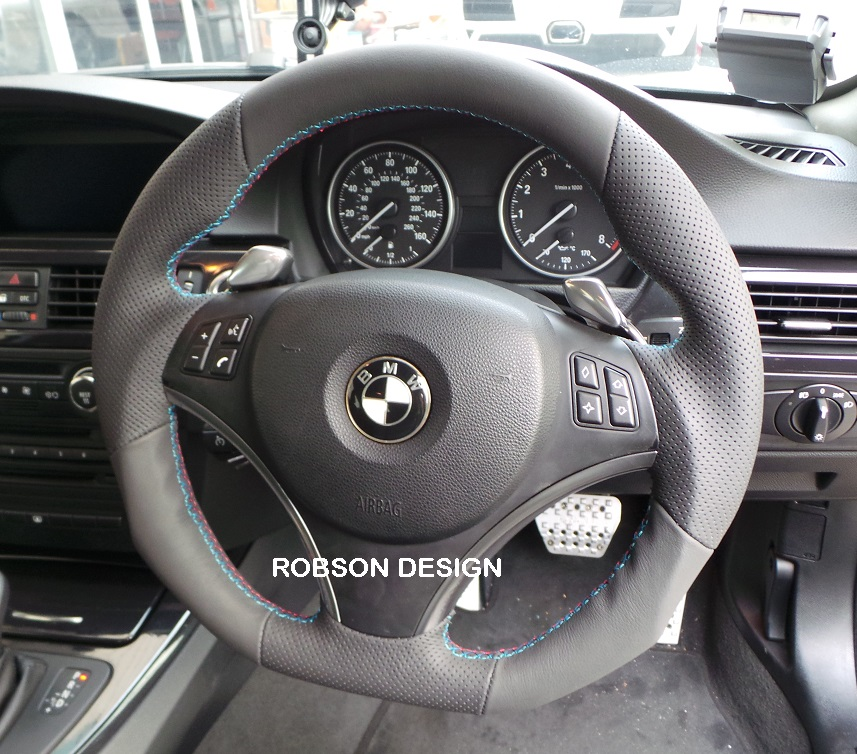 bmw e90 e91 e92 e93 sports steering wheel smg robson. Black Bedroom Furniture Sets. Home Design Ideas