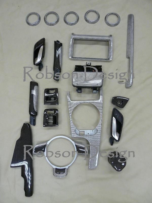 Audi Tt Interior Panel 19pcs Set Carbon Fiber Robson Design Carbon Fiber Car Accessories