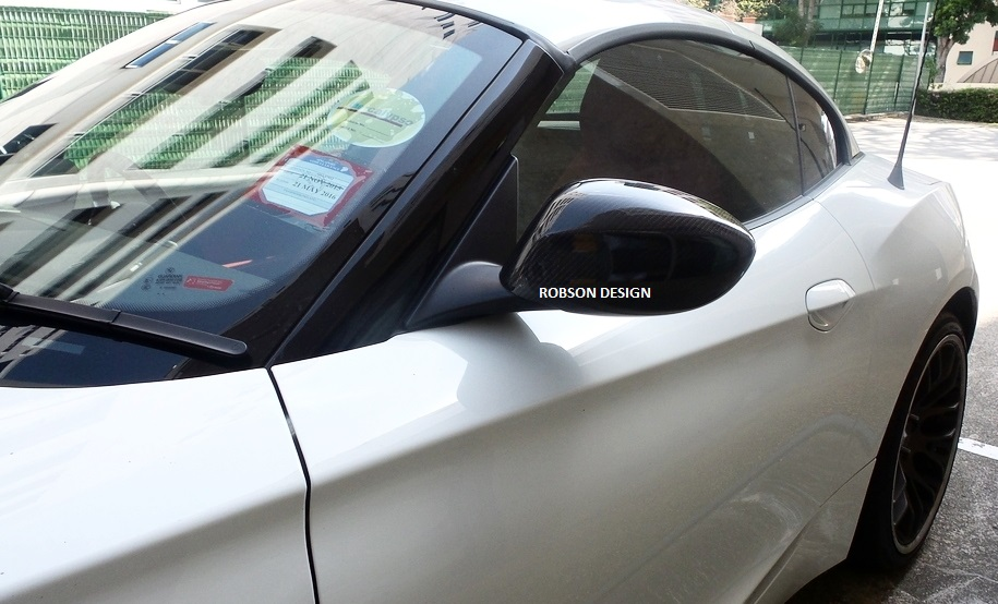 Bmw Z4 E87 Side Mirror Cover Carbon Fiber Robson Design