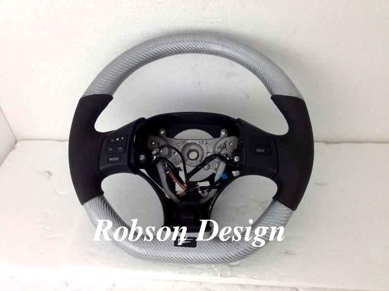 lexus isf 250 steering wheel carbon fiber robson design. Black Bedroom Furniture Sets. Home Design Ideas