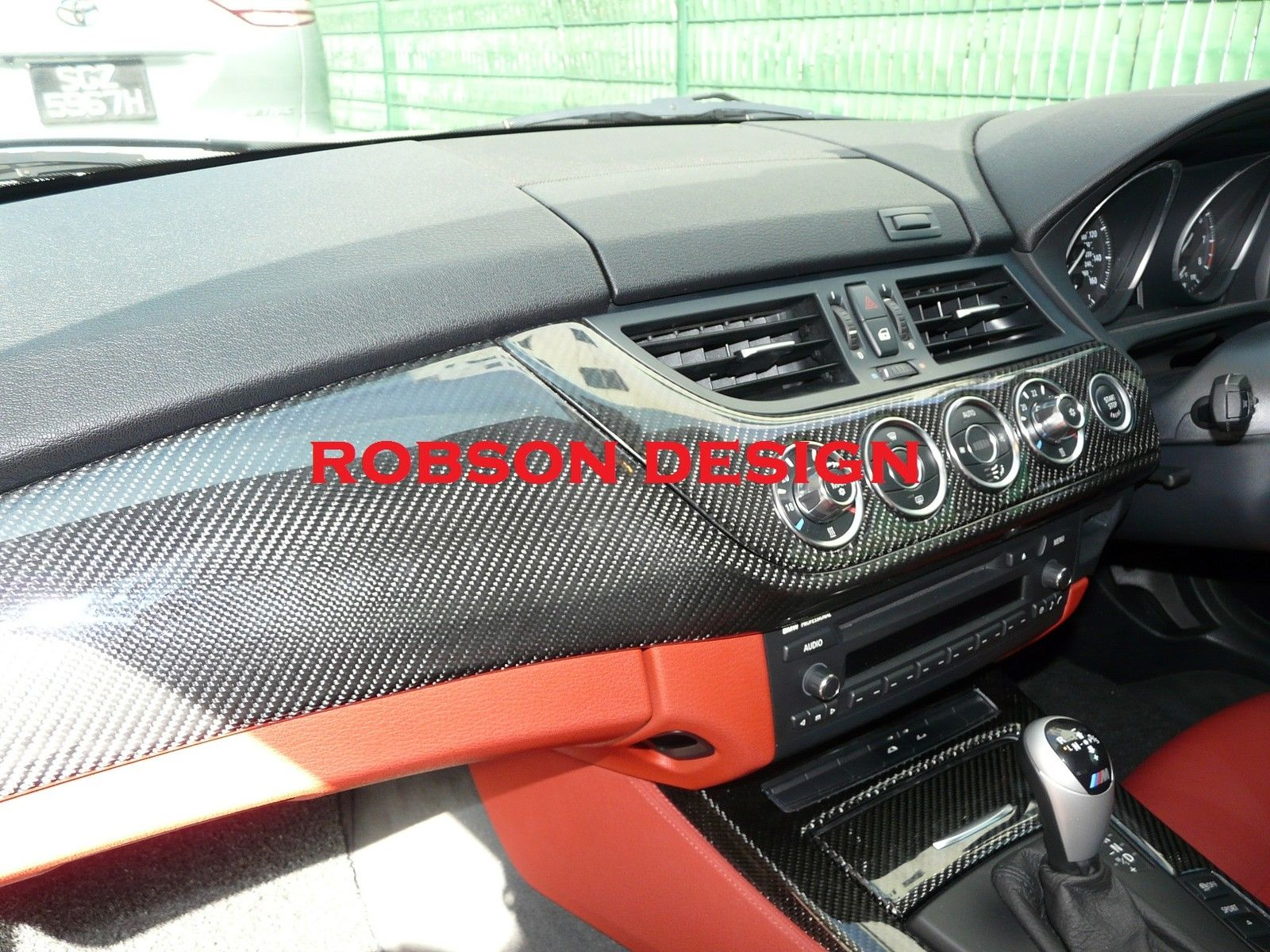 Bmw Z4 E85 Interior Panel 6pcs Set Carbon Fiber Robson