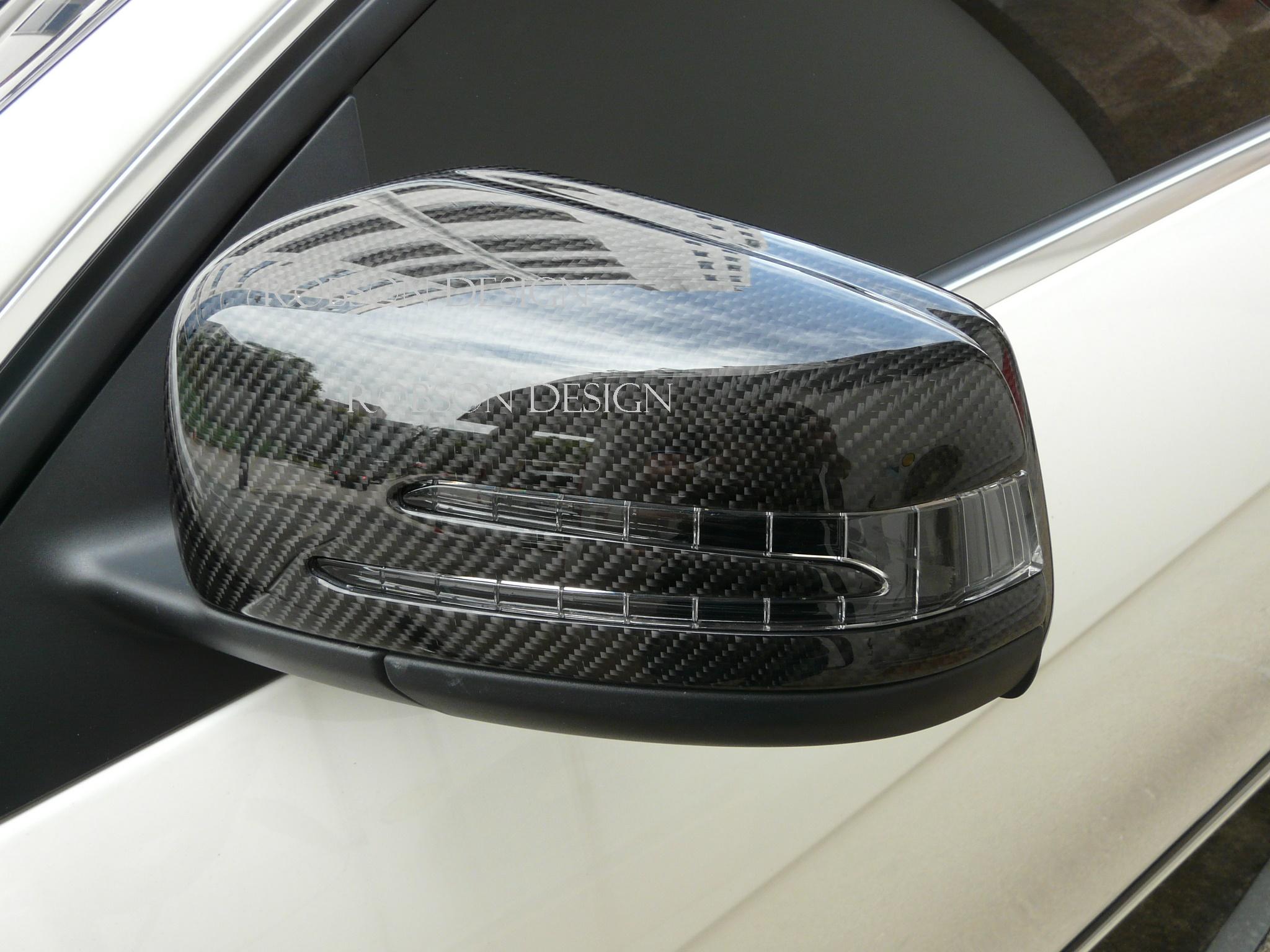 Mercedes Benz Cla Class Cla Amg Side Mirror Cover 2pcs Set