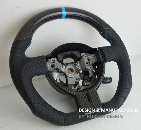 Scion Fr S Frs Subaru Br Z Brz Steering Wheel Robson Design Carbon Fiber Car Accessories