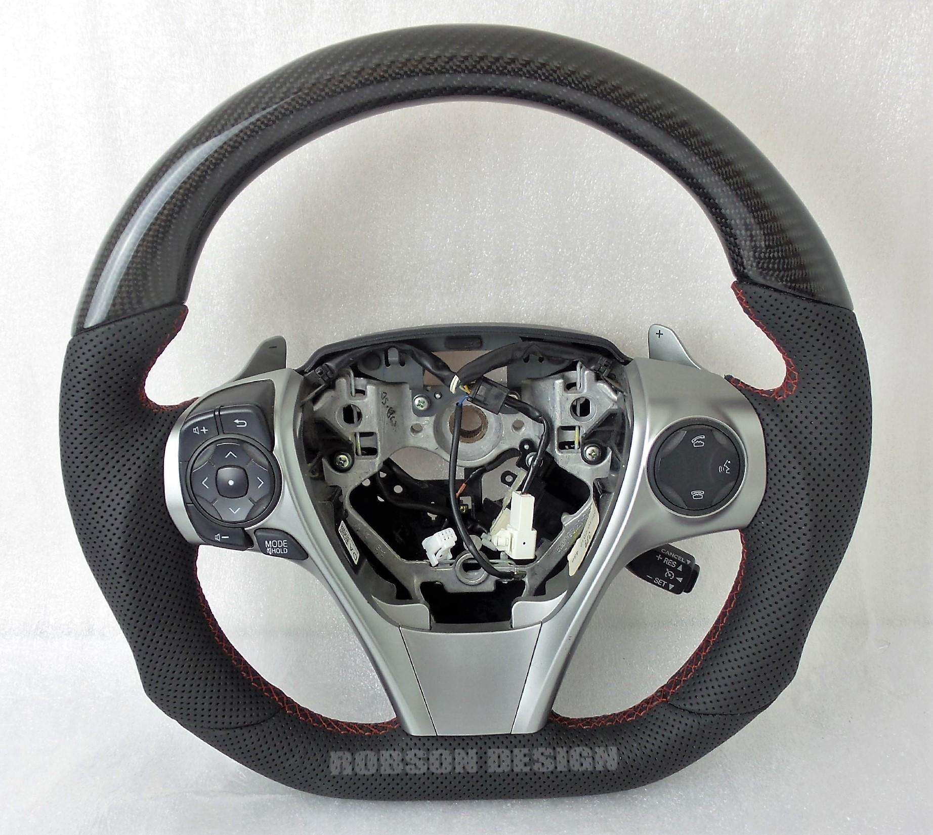Toyota Camry Carbon Fiber Steering Wheel
