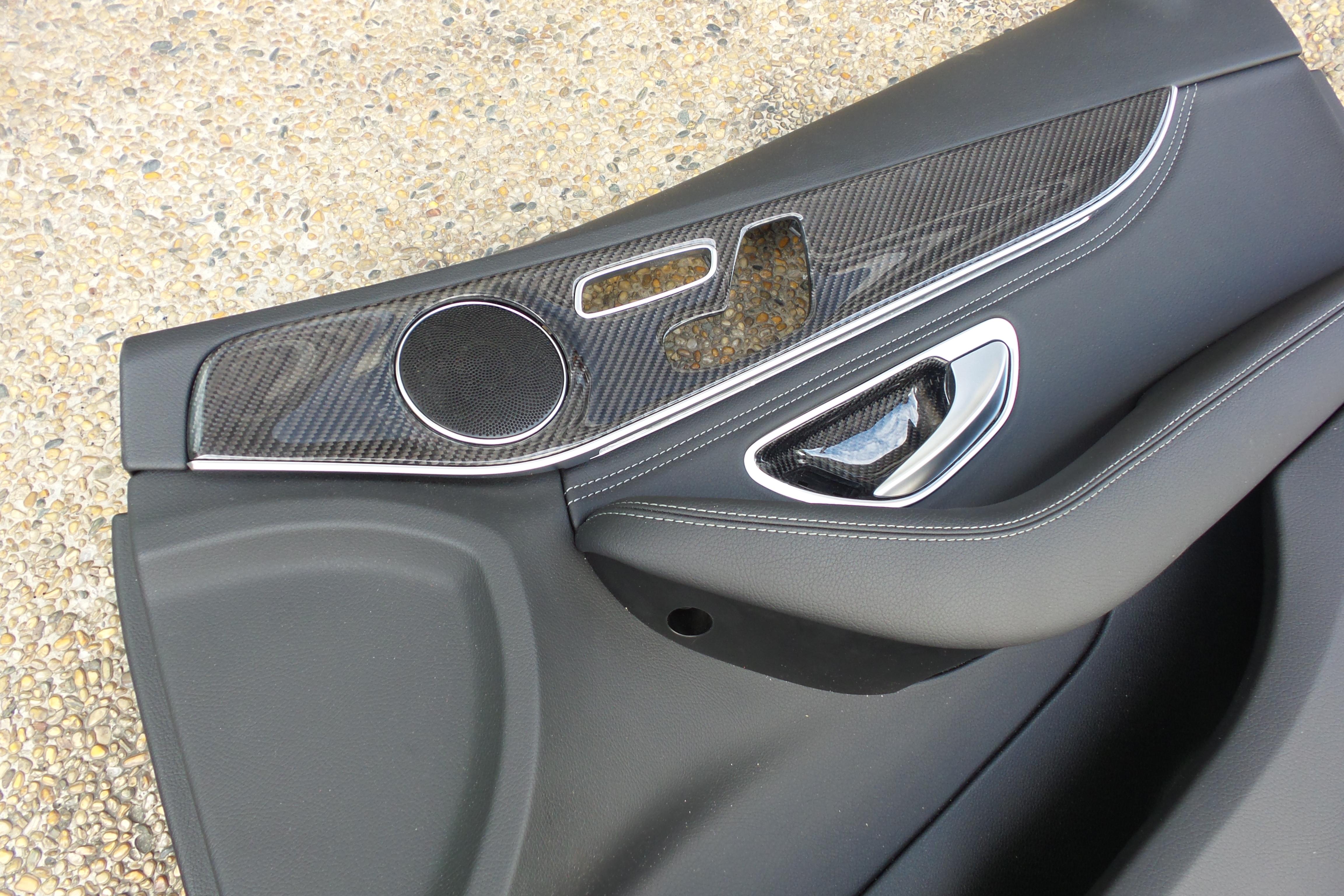 Mercedes W205 Door Trim Set Sedan Robson Design Carbon Fiber Car Accessories Interior
