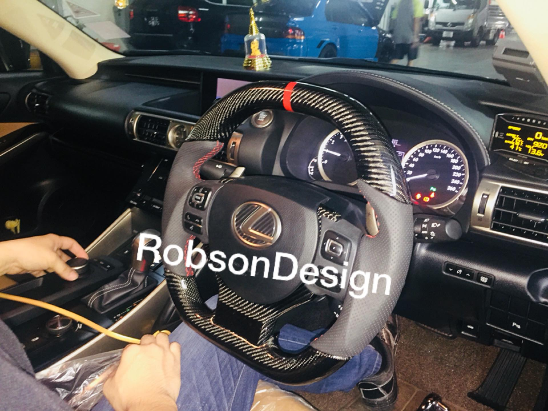 LEXUS ISF 250 STEERING WHEEL CARBON FIBER 2014 2015 – Robson Design